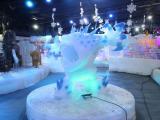 大型冰雕主题展平方出租价格冰雪雕刻艺术美方案租赁
