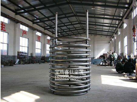 钛盘管,钛管束,钛导热管