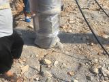 欧力特牌小型液压劈裂机管道隧道开挖好帮手