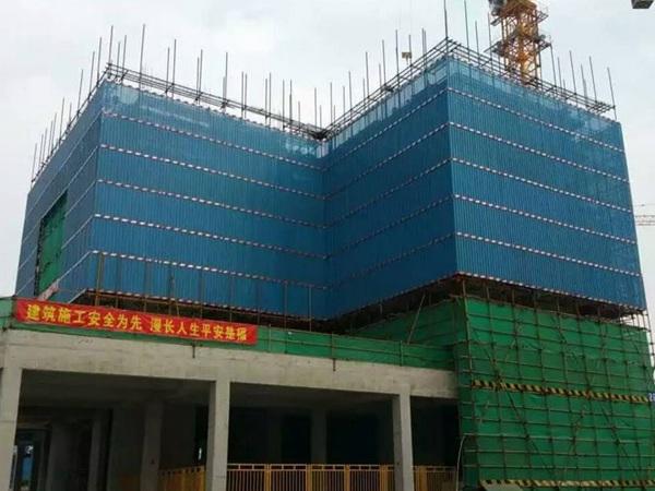 实体厂家专业生产建筑圆孔网爬架网片建筑外挂网