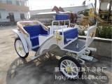 矮马婚庆车YC-EC009b 道具车、白色小马车