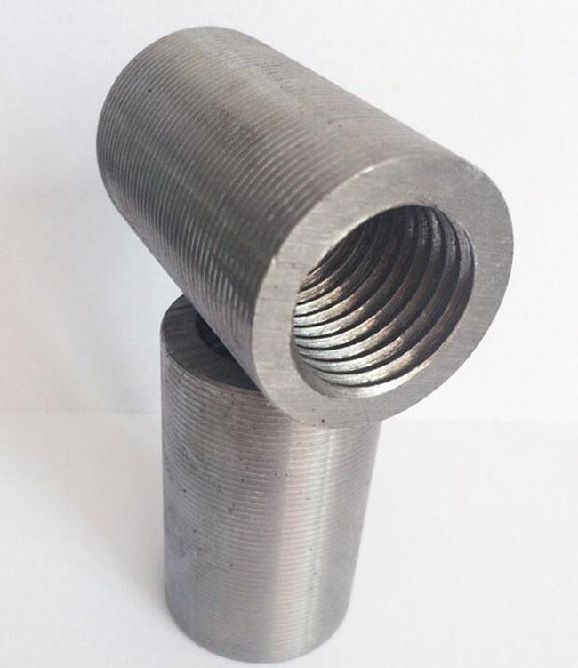 套筒厂家16 钢筋接头直螺纹钢筋连接套筒钢筋接驳器