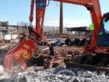 破碎混凝土方法 挖掘机液压粉碎钳