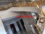 高档别墅铜艺复古艺术楼梯护栏