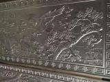 仿古铜铝板艺术精雕壁画