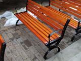 公园长凳铝质凳腿