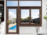 佛山门窗定制铝合金平开窗断桥铝门窗
