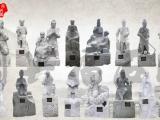 石雕二十四孝花岗岩古代人物24孝石头雕刻户外校园文化教育公园