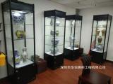 瓷器独立柜设计效果图,深圳瓷器展柜厂家