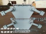 厂家生产双层重锤翻板阀,锁风喂料机,泊头浩存,厂家直供