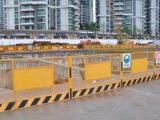 施工基坑护栏 基坑临边围挡 深圳护栏厂家