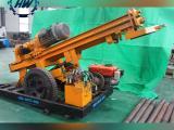 恒旺小型水井钻机手推轮式气动打井机