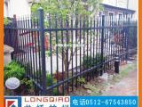 苏州铝合金护栏 高档全铸铝合金别墅围墙护栏 龙桥订制