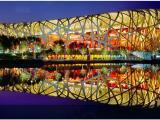 北京鸟巢户外广告价格,鸟巢体育场灯箱广告