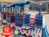 无轨观光小火车 托马斯商场游乐场设备小火车