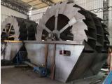 砂石场轮式洗沙机矿山选矿洗沙机滚筒筛沙机选洗效率高