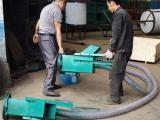 枣庄 小型旋挂式螺旋吸粮机  软管气力吸粮机