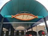 青岛玻璃钢标牌|装修装饰