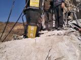 坚硬的岩石石头分裂机厂家地址