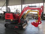 1吨挖掘机宽敞明亮  小型挖掘机节能高效