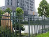 博盾锌钢护栏可定制小区学校围栏