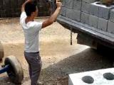 水泥砖装车机