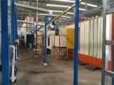无锡静电喷涂设备价格 粉末喷漆设备 粉末静电喷漆生产线