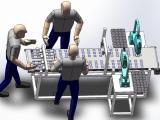 自动化检测设备-压缩机吸排气阀片在线检测整列机