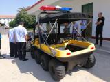 两栖全能地形车厂家水陆两栖汽车8轮驱动提升野外工作能力
