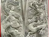 龙凤呈祥浮雕 福建惠安石材浮雕壁画厂家