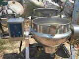 长期回收二手食品夹层锅 燃气夹层锅