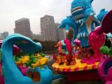 儿童游乐设备,水上游艺机,激战鲨鱼岛游乐器材原厂直销