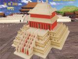 厂家直销木制益智仿真模型玩具wp226释迦木塔