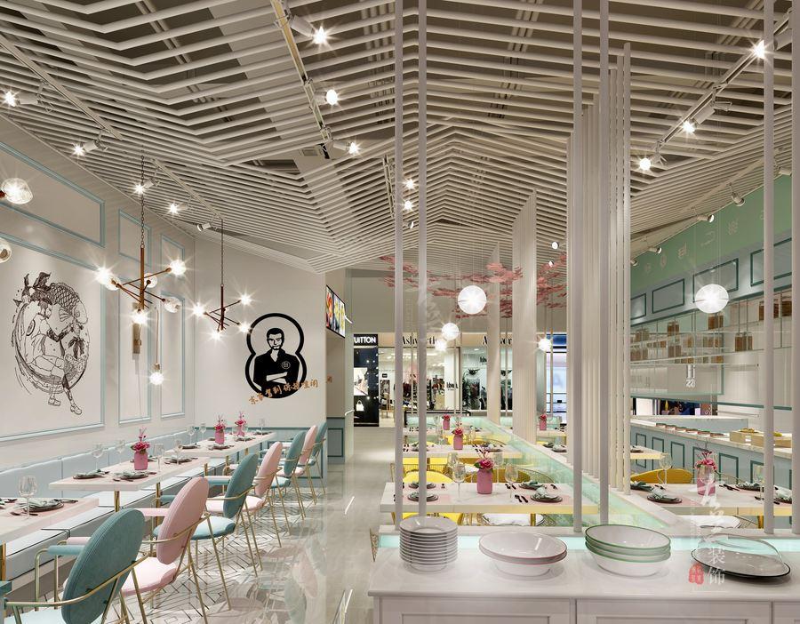 03  网红餐饮店装修—网红餐饮店设计要有它的特征 发布店面装修图片