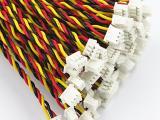 生产加工GX12航空插头线焊接电子线