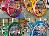 小区商业街摆摊儿童乐吧车广场双人亲子遥控车小孩电动玩具车