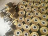 筛网弹簧刷 防堵刷钢板除锈钢丝毛刷辊 炭化木板拉丝机毛刷