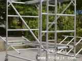 深圳移动式铝合金脚手架厂家,欧标内爬梯铝架,快装拆卸手脚架