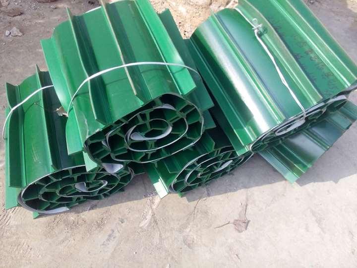 中山v型槽散料圆管输送机 流水线箱装苹果装卸车用