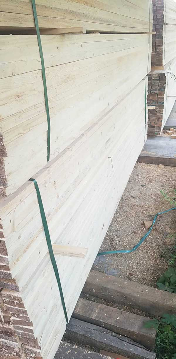 白松建筑口料经销商 白松建筑口料 日照创亿木材加工厂