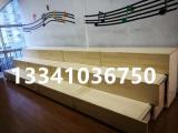 木质伸缩三层合唱台阶 抽拉式合唱台 实木阶梯台演唱台