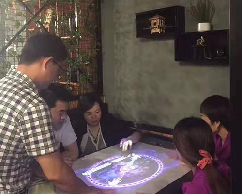 上海娱乐机 投影桌面娱乐机 山西明晶光娱科技有限公司