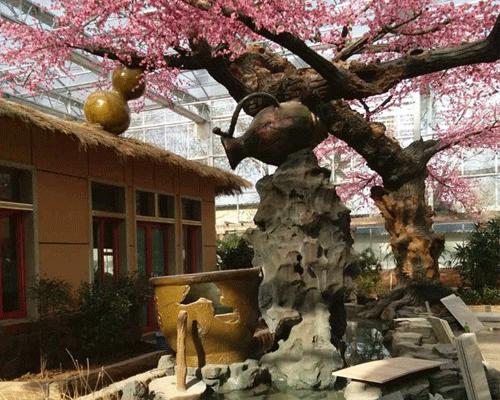 石头假山制作 福州假山制作 济南神斧景观经验丰富