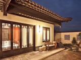 华兴中式仿古门窗,古朴质感富有韵味,隐藏式合页