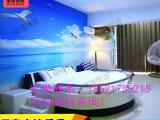 定做主题酒店创意造型床地中海主题船型床厂家直销