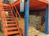 货架定制-货架厂-工厂铁架-双层货架仓库