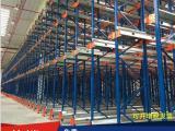 穿梭货架-易达广州仓库机械化工作货架半自动化货架