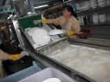 霖森大型餐具消毒洗碗机设备