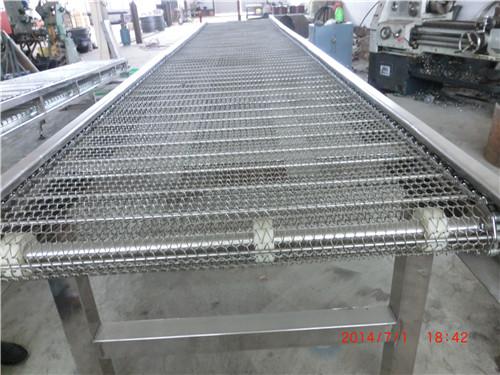 盛辉链条厂质量可靠 食品网带输送机批发 泰安食品网带输送机