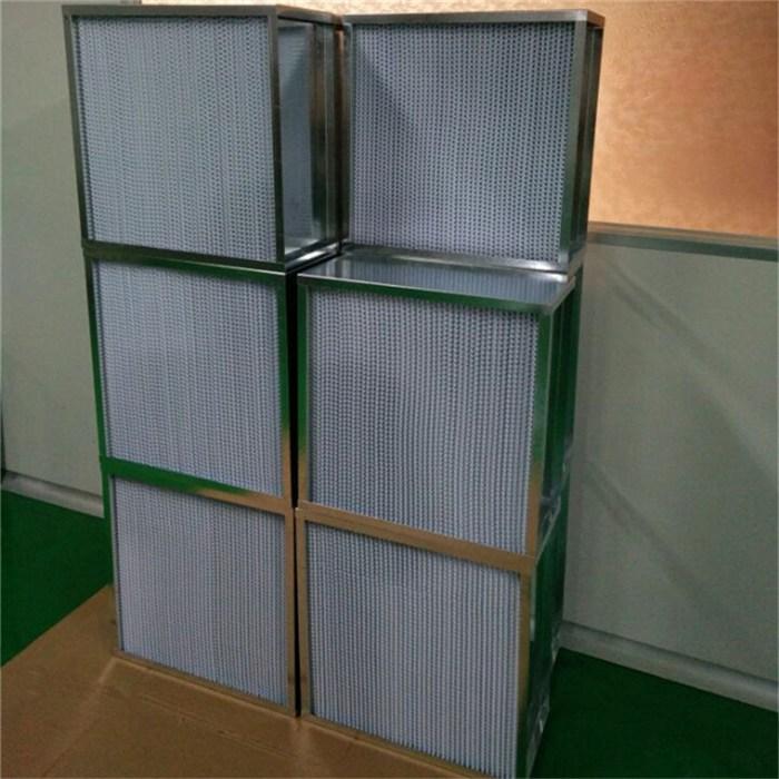 有隔板高效空气过滤器 迅淼净化设备畅销全国 黑龙江空气过滤器